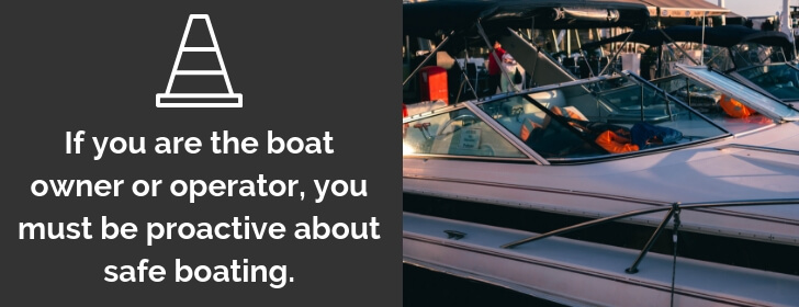 Have a Complete Boating Safety Course.